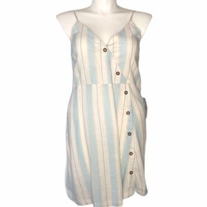 NEW!!! J for Justify button front dress XL